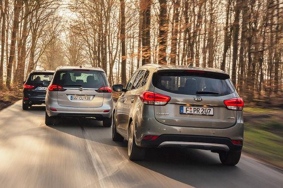 BMW 2er Gran Tourer Kia Carens Opel Zafira