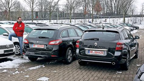 Peugeot 508/Renault Laguna: Gebrauchtwagen-Test