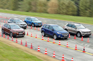 Kompakt-SUVs im Test