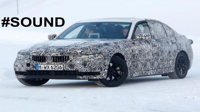 So klingt der BMW 3er