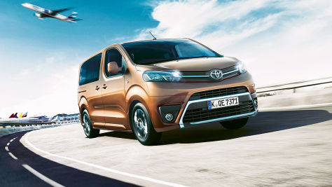Fahraktion: Toyota Proace Verso