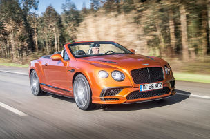 Bentley Continental Supersports (2017) im Test: Fahrbericht