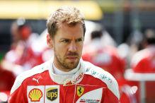 Vettel fliegt bei Reifentests böse ab!
