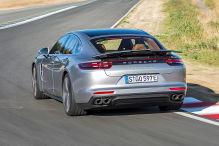 Porsche Panamera Turbo S E-Hybrid (2017): Mitfahrt