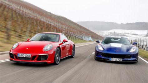 Corvette Grand Sport/Porsche 911 GTS: Test