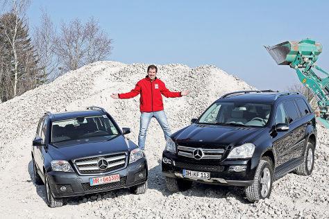 Mercedes GLK 220 CDI, Mercedes GL 320 CDI 4Matic