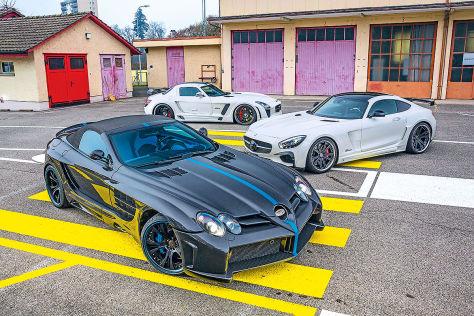 Drei Mercedes von FAB-Design