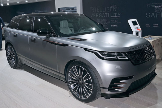 video range rover velar genf 2017. Black Bedroom Furniture Sets. Home Design Ideas