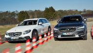 Mercedes E-Klasse All Terrain/Volvo V90 Cross Country: Test