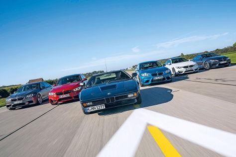 BMW M1 und seine Erben