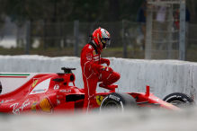 Ferrari: Favorit trotz Crash?