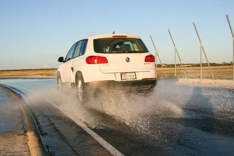 VW Tiguan, Sommerreifen-Test
