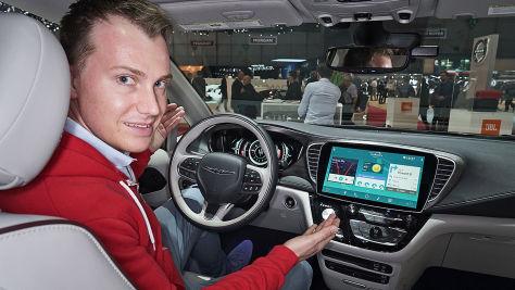 Auto Salon Genf 2017: Connected Car