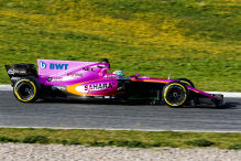Wird der Force India rosa?