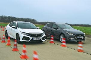 Honda schlägt Mazda