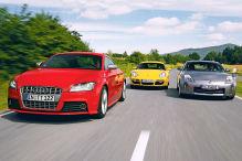 Audi TT S, Porsche Cayman, Nissan 350 Z: Gebrauchtwagen-Test
