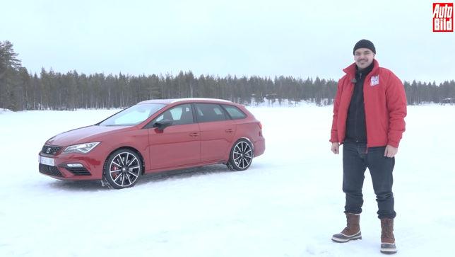Der Cupra-Test im Schnee