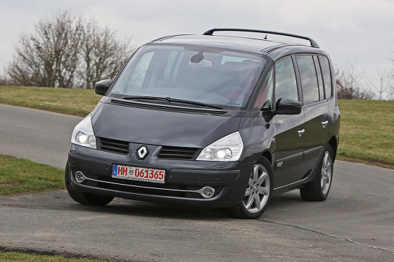 renault espace iv gebrauchtwagen test. Black Bedroom Furniture Sets. Home Design Ideas