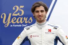Formel 1: Starkes Debüt von Giovinazzi