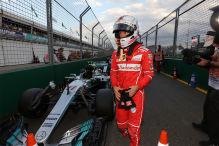 Vettel am Start eine Gefahr