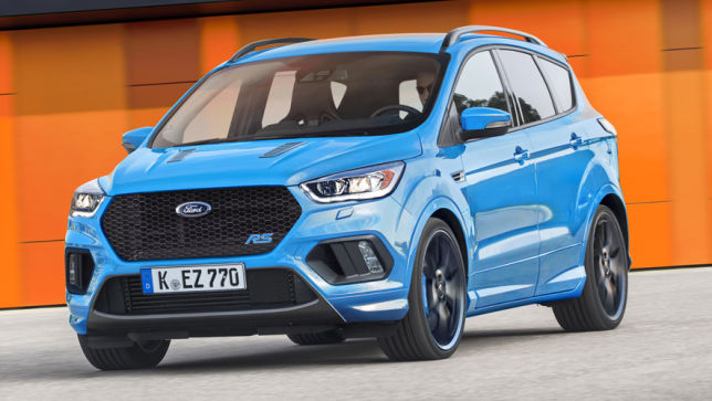 Video: Ford Kuga RS (2018) - autobild.de