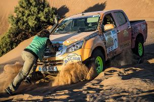 Rallye: Frauen-Rallye in Marokko