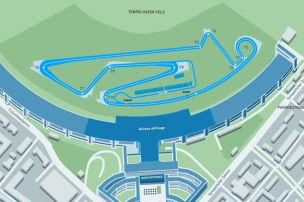 Formel E: Neue Berlin-Strecke