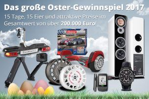 Preise im Wert von über 200.000 Euro!