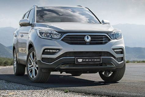 ssangyong rexton 2017 vorstellung motoren preis. Black Bedroom Furniture Sets. Home Design Ideas