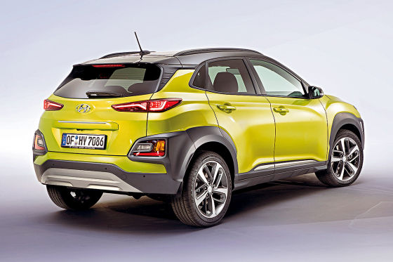 Hyundai Kona 2018 Diesel Test Preis Abmessungen