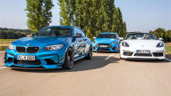 AC Schnitzer ACS2/Techart Boxster S/Wolf Focus RS: Test
