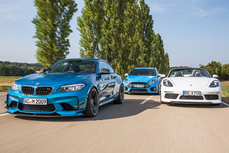 AC Schnitzer ACS2 Techart Boxster S Wolf Focus RS