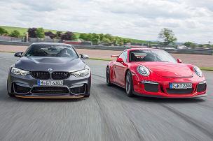 BMW M4 GTS/Porsche 911 GT3: Test