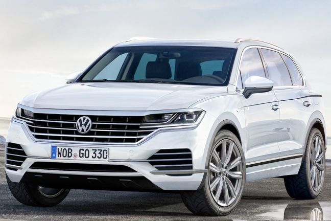 Video Vw Touareg 3 2017 Autobild De
