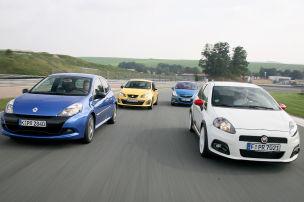 Clio RS/Corsa OPC/Ibiza Cupra/Punto Abarth: Gebrauchtwagen-Test