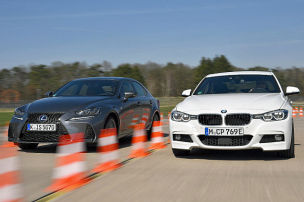 BMW 330e iPerformance/Lexus IS 300h: Test