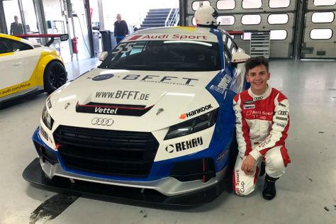Audi TT Cup mit Fabian Vettel