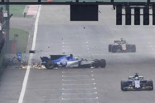 Zweiter Crash von Giovinazzi