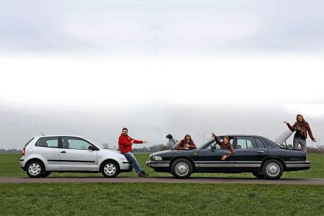 VW Polo 1.2, Buick Park Avenue 1991