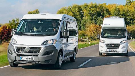Wohnmobile: Kastenwagen-Test