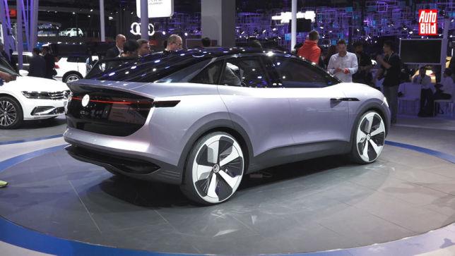 Schnelles, großes Elektro-SUV-Coupé