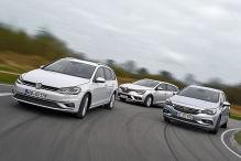 Opel Astra/Renault Mégane/VW Golf: Test