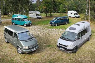 VW-T4-Wohnmobile: Gebrauchte im Test
