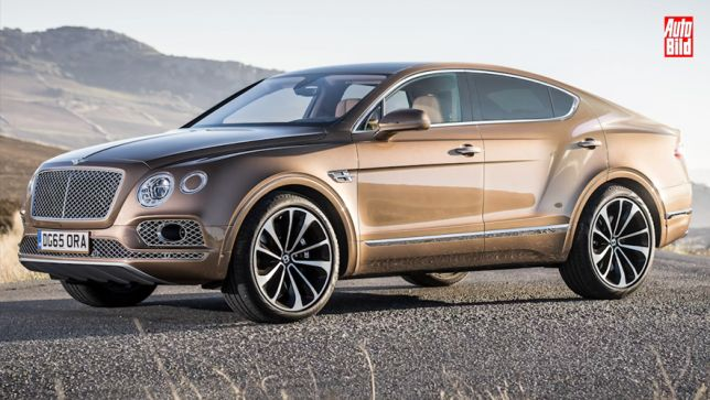 Bentayga goes Coupé
