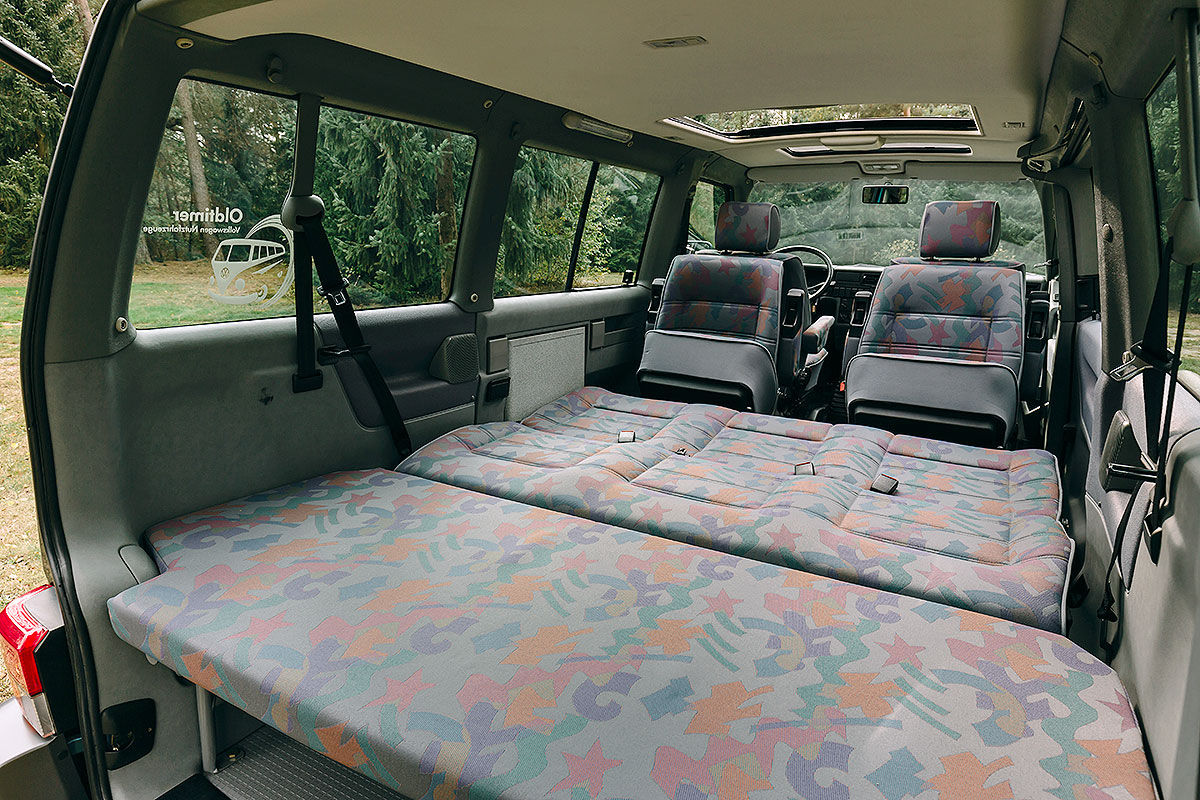 sechs vw t4 camper im test bilder. Black Bedroom Furniture Sets. Home Design Ideas