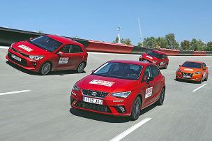 Seat Ibiza/Kia Rio/Nissan Micra/Suzuki Swift: Test