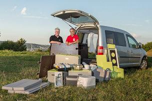WUK auf VW Caddy: Wohnmobil-Test