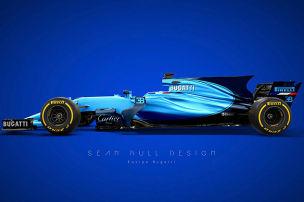 F1-Look im Stile von Bugatti & Co