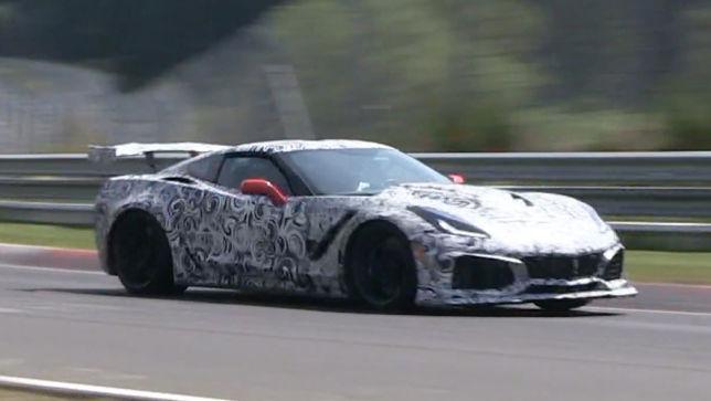 Stärkste Serien-Corvette