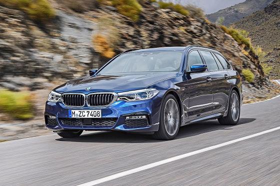 BMW 5er Touring G31 2017 Preis Marktstart Kofferraum